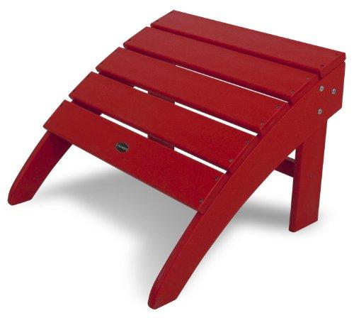red adirondack chair resin - 7