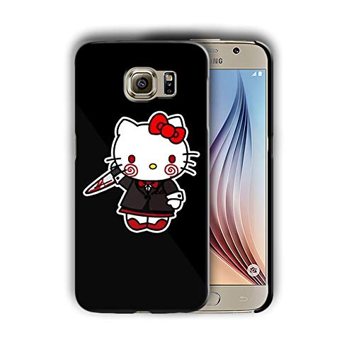 Hard Case Cover with Saw Design Compatible with Samsung Galaxy S7 (hall1) ()