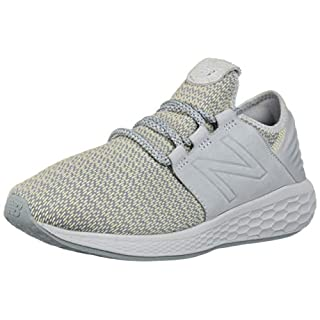New Balance Women's Fresh Foam Cruz V2 Sneaker, Light Cyclone/Vanilla, 12 B US