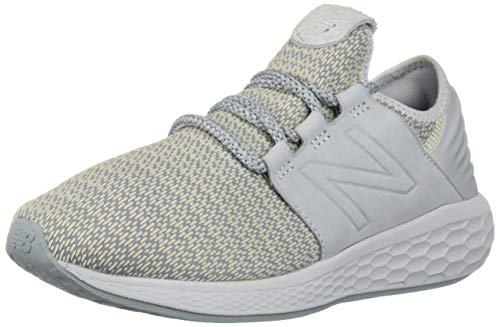 New Balance Slip Ons - New Balance Women's Cruz V2 Fresh Foam Running Shoe, Light Cyclone/Vanilla, 9.5 B US