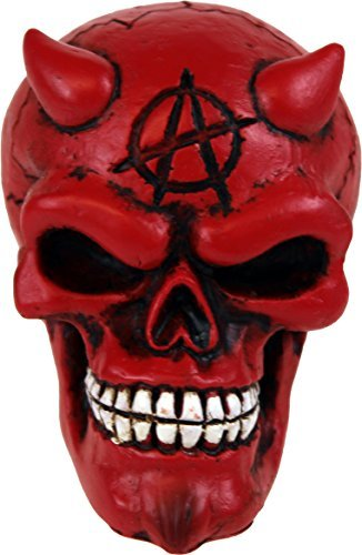 Red and Black Devil Skull Shift Knob