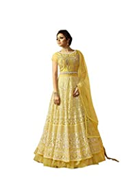 stylishfashion Indian/Pakistani Designer Embroidered Anarkali Style Wear Salwar Kameez Party wear Wedding Suit for Women