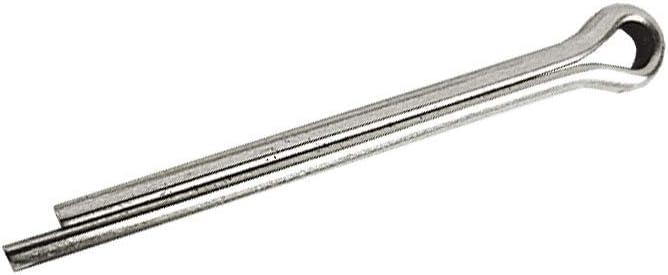 10/unidades de 2,5/mm x 25/mm A2/inoxidable de pasadores de aletas PIN 3//32/x 1/ /DIN 94