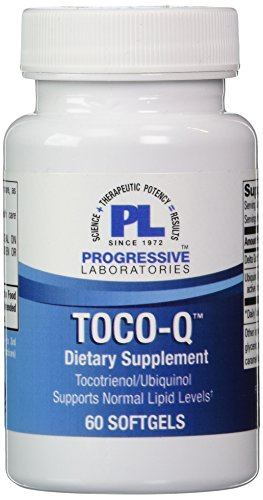 Progressive Labs Toco-Q Supplement, 60 Count