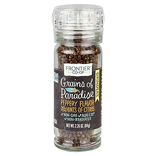 - Frontier Grains Of Paradise Grinder 2.26 Ounce