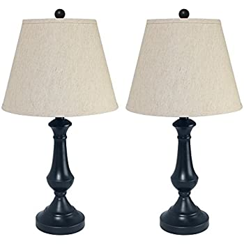 Kenroy Home 21059mbz Abbott 2 Pack Table Lamp Metallic