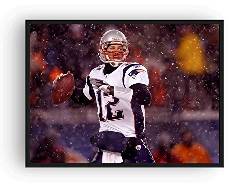 Mile High Media Tom Brady Full Color Poster Print (18x24)