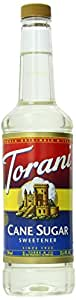 Torani Syrup, Cane Sugar Sweetener, 25.4 Ounce (Pack of 4)