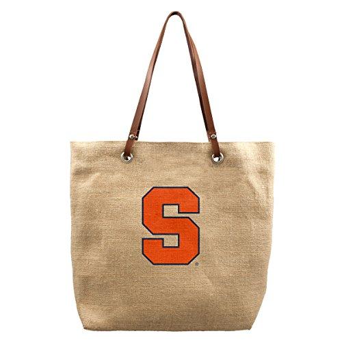 NCAA Syracuse Orange Burlap Market - Shopping Syracuse