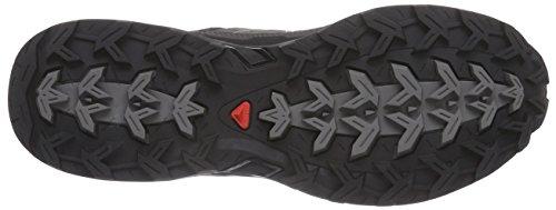 Argile Noir noir Salomon Chaussures Low Randonne Ultra Femmes En Cuir Verte Autobahn X Pour De WBnvfRWO