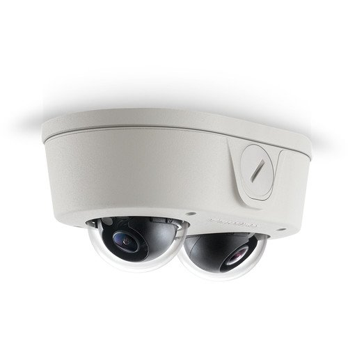 ARECONT VISION MicroDome Duo Series 6MP True Day/Night Indoor/Outdoor IP Dome Camera with SNAPstream & WDR (2.8mm Lens) / AV6656DN-28 /
