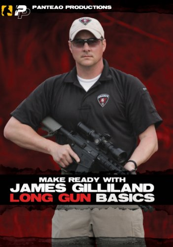 Panteao Productions: Make Ready with James Gilliland Long Gun Basics Video - PMR024 - Sniper - Long Range Shooting - Rifle and Tactical Training (Caliber Sniper Rifle)