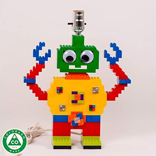 Googly eyes Robot lamp