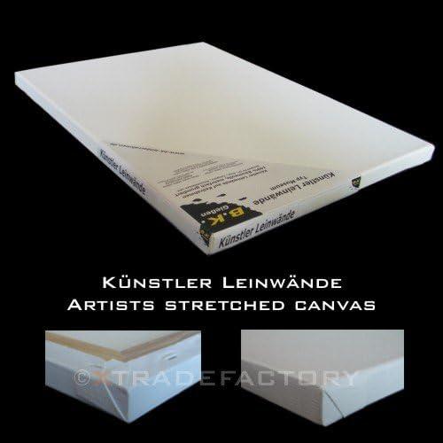 2 LEINW/ÄNDE AUF KEILRAHMEN 60x80 cm Leinwand