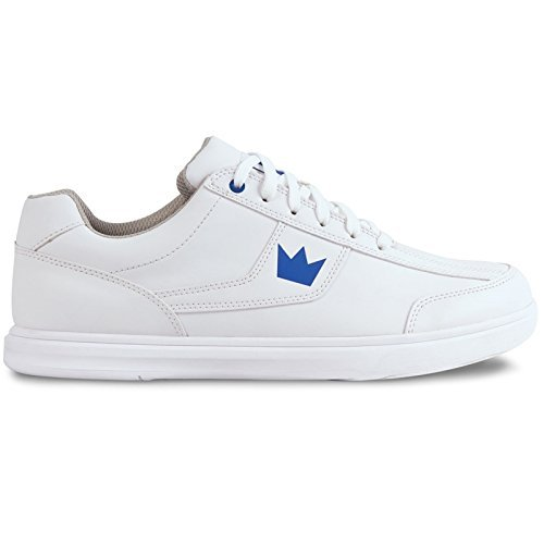 Brunswick Edge Mens Bowling Shoe White, 15.0 by Brunswick