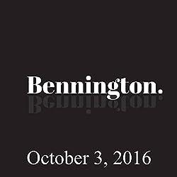 Bennington, October 3, 2016