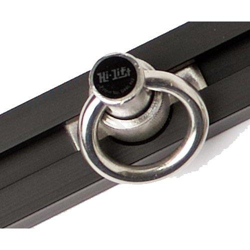 Hi-Lift (BXR93S) Slide-N-Lock Tie Down System, 93'', Clear