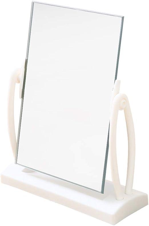C-J-Xin Espejo de Belleza, Plástico Escritorio Dormitorio ...