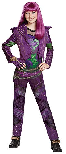 Disguise Disney Princess Descendants 2 Mal Isle Deluxe Child Halloween Costume, Teen (14-16) -