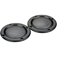 AOSHIKE 2pcs 2inch black treble speaker protective grille for plug-in card sound hood speaker