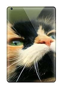 Heimie ZyWQsuB17455uFbok Case Cover Ipad Mini/mini 2 Protective Case Black And Gold Cat Closeup Animal Cat