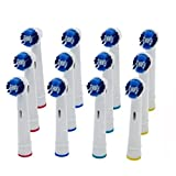 MaxAike1 4 PCS/Pack 3D White Electric Soft Brush Toothbrush Heads Replacement for Oral B SB-20A (12 PCS)