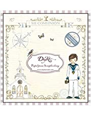 Dayka Trade Bloc Dayka de 24 Hojas Mi comunión Chico 20x20 cm