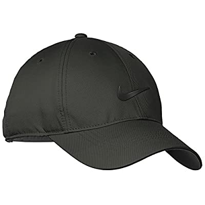Nike Golf Dri-FIT Swoosh Front Cap, Anthracite/Black, OS by Nike