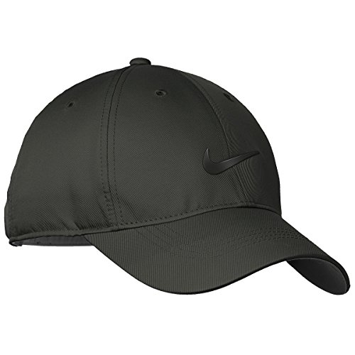 Nike Womens Golf Dri-FIT Swoosh Front Cap, Anthracite/Black, - Fit Hat Tennis Nike Dri