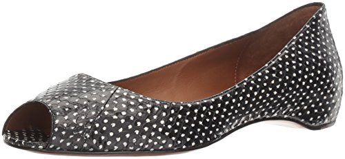 Aquatalia by Marvin K. Womens Camille Snake Wedge Pump Black