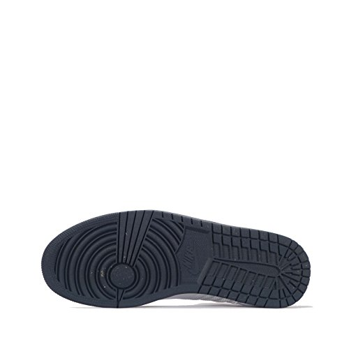 White Midnight Blue 1 De 4 Navy Chaussures Jordan Flight Pour Basket Red Gym Nike Hommes ball 164 Prem pwqxP6n5Ca