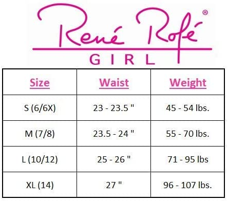 2 Pack Rene Rofe Girls Under Dress Dance and Bike Short