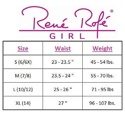 4 Pack Rene Rofe Girls Under Dress Dance and Bike Short