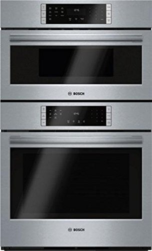 HBL87M52UC 800 Series Microwave Combination Oven with 10 Sensor Cooking Programs Defrost Function Bake Variable Broil Multi Rack Genuine European Convection and Temperature Probe in Stainless Steel