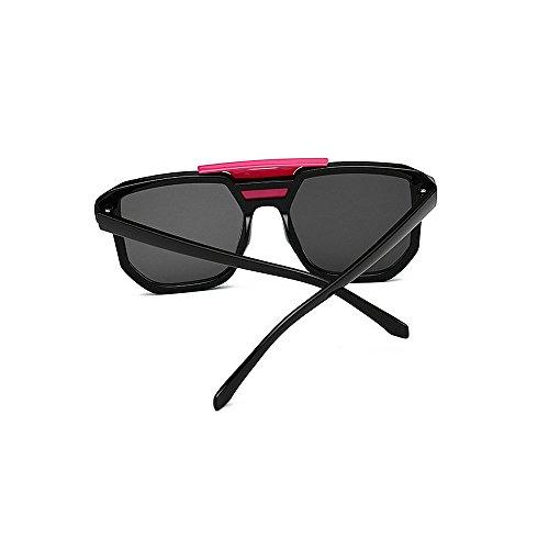 de Hombres unisex de deportivas protección sol computadora gafas las que ULTRAVIOLETA las Gafas mujeres gafas clásicas portátil rieles lente de sin de la de las la marco para s de Negro inmóvil conducen sol t6wqFazF