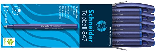 Schneider Topball 847 Blue 0.5 mm Disposable Rollerball Pen Photo #8