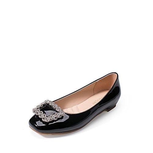 Cuñas de verano/Aumento lado hebilla bellezas del rhinestone en el viento de zapatos de moda/Zapatos de las mujeres coreanas B