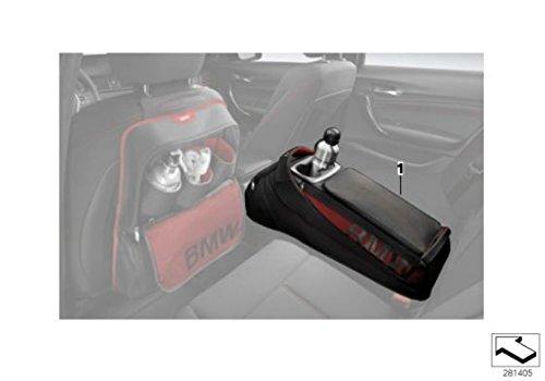 BMW auténtica compartimiento trasero Asiento Trasero bolsa de almacenamiento bolsillos negro 52212303027: Amazon.es: Coche y moto