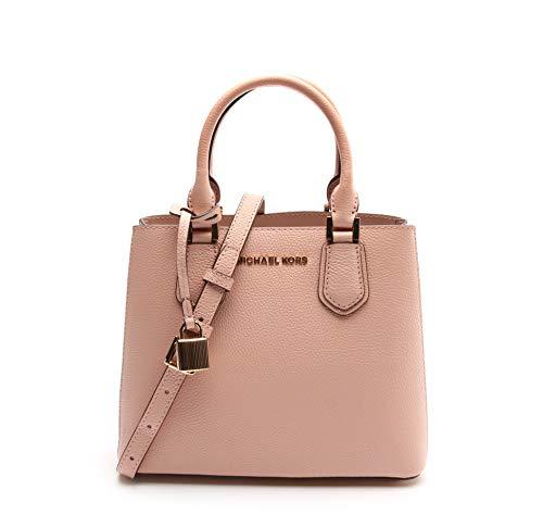 Michael Kors Women's Adele Messenger Crossbody Bag No Size (Pstlpnk/Bllt)
