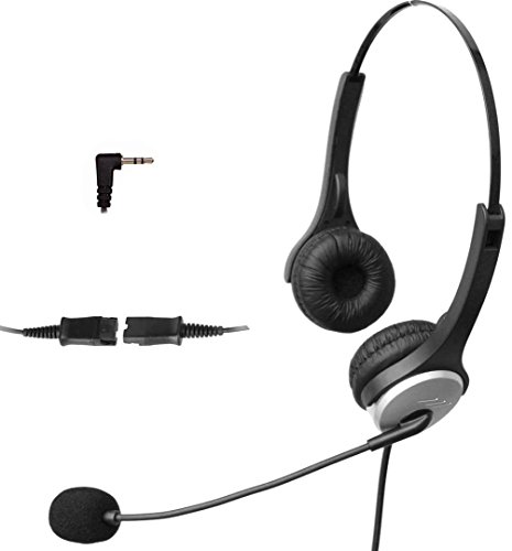 4call-k502qj35-35mm-dual-telephone-headset-for-business-office-deskphones-alcatel-lucent-ip-touch-40