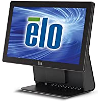 Elo Touch E023735 15E2 IntelliTouch AiO 15.6 LED LCD Touchcomputer, D Fanless 2.41GHz J1800 Celeron Dualcore, 2GB RAM, 320GB HDD, POS Ready 7 OS 32-Bit, Black