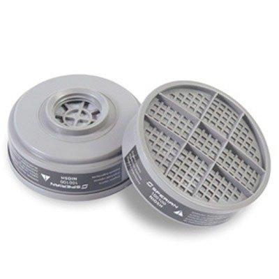Survivair Organic Vapor/Acid Gas Cartridge For S Series Air Purifying Respirator (APR) With P100 Filter