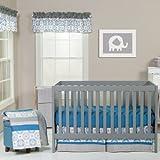 Monaco 3 Piece Crib Bedding Set