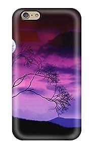 New Tpu Hard Case Premium Iphone 6 Skin Case Cover(nature)