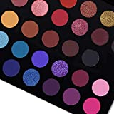 CHANGEABLE Pro Eyeshadow Palette Matte Shimmer Make Up Eyeshadow Palette Pigmented Eye Shadow Powder Natural Colors Long Lasting Waterproof Makeup Pallet