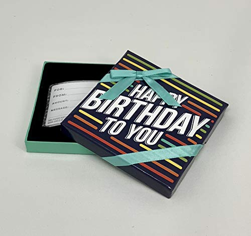 Happy Birthday to You - Gift Card Tin Holders - Gift Card Box (Set of 3)