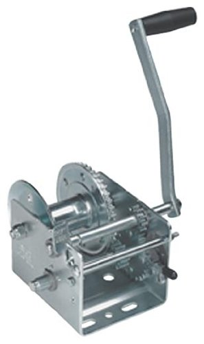 Fulton (T3205B0101) 2-Speed Trailer Winch with Brake, 3200 lb. Weight