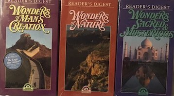 readers-digest-great-wonders-of-the-world-3-vhs-vedios