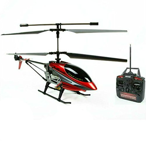 SkyCo M6 Wildfire Metal Frame RTF 3.5CH RC Remote Control Helicopter Gyro (Rc Army Helicopter Large)