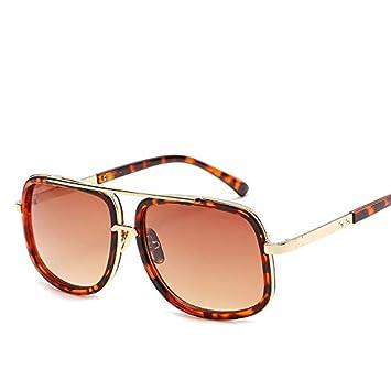 YKDDGG Accesorios de Moda Gafas de Sol Moda Big Frame Gafas ...